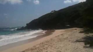Macaroni beach Iles Grenadines