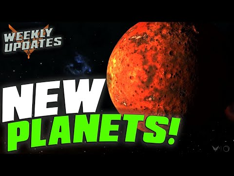 "Elite Dangerous - Planet Surfaces Updated ""Beyond"" - More INRA bases found & NEW Aegis modules!"