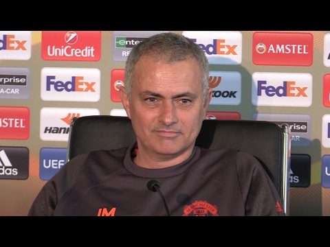 Jose Mourinho Full Pre-Match Press Conference - Manchester United v St-Etienne - Europa League