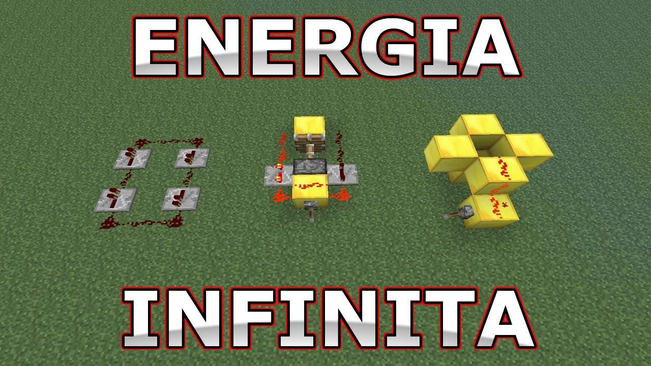 c5c20065371 Energia Infinita - Minecraft Redstone - YouTube