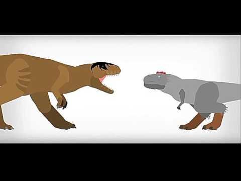 Giganotosaurus vs alioramus audio remake (gari)