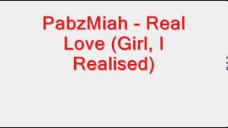 Watch Pabzmiah Real Love video