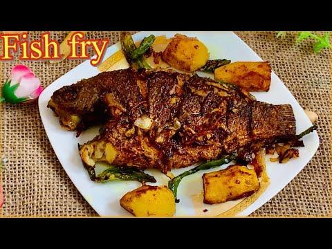 Testy Fish 🐠Fry ।।Simple & Delicious Fish Fry ।।ঝটপট মজাদার স্বাদের মাছ ভাজা গ্রামের স্টাইলে