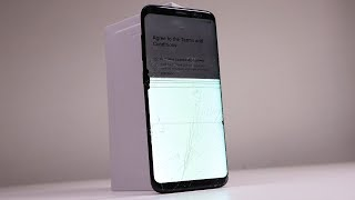 BENT Samsung Galaxy S8 Restoration