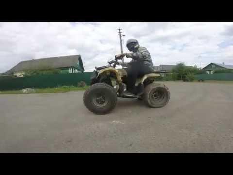 Обзор на Квадроцикл IRBIS ATV110U 110CC 4T