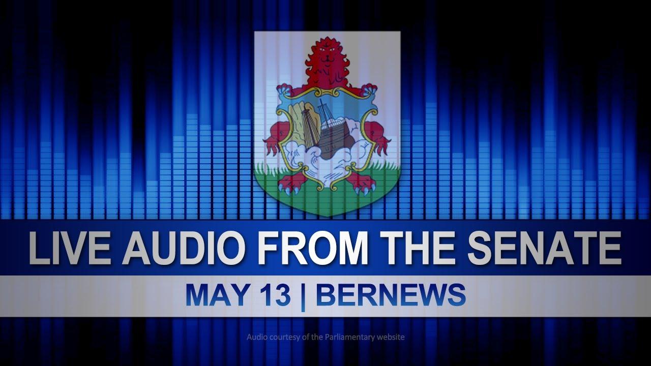 Download Audio   Bermuda Senate Session, May 13 2020