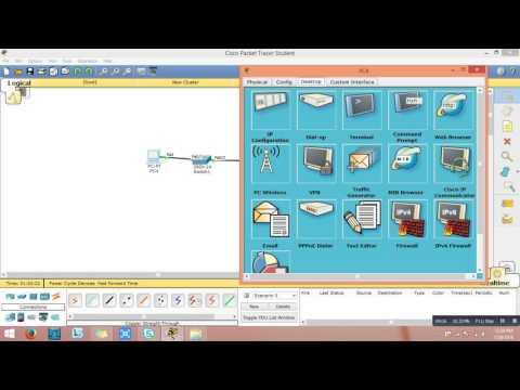 Telnet Configuration using Packet tracer