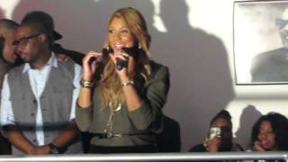 Tamar Braxton Performing Love and War at Billboard Live