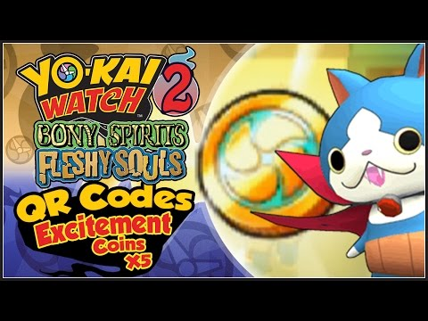 Yo Kai Watch Qr Codes Médaillons 3e Partie By Steeve 98