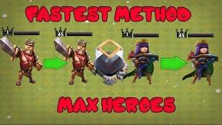 Clash Of Clans - FASTEST DARK ELIXIR FARM METHOD - MAX HEROES FAST TH7,TH8,TH9,TH10,TH11