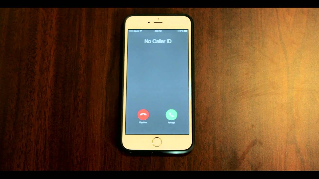 no caller id iphone idfwu no caller id callers 15770