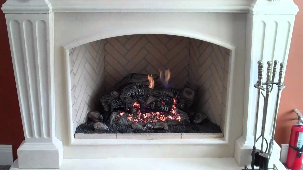 Brand New FMI B-Vent gas only fireplace; This gas unit comes from the Georgian chassis and is available in the same 36