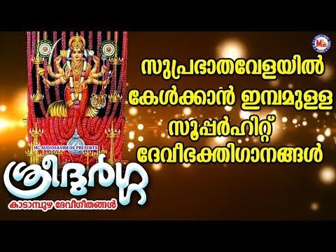 സുപ്രഭാതവേളയിൽ കേൾക്കാൻ ഇമ്പമുള്ള ദേവീ ഭക്തിഗാനം   Navarathri Songs   Hindu Devotional Songs