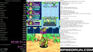 Digimon world DS Speedrun Emulator 3:21:32