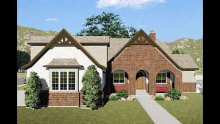 Exclusive European House Plan 61355ut With Lower-level Apartment