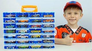 Машинки ХотВилс и КЕЙС Трансформер! Новые Машинки Hot Wheels для детей и Даник