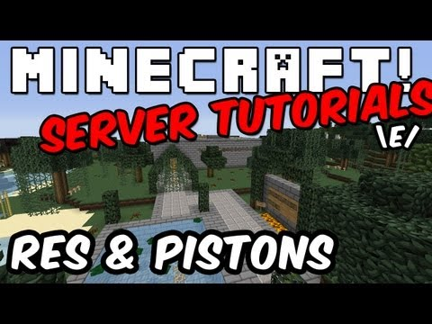 Server Tutorials: How To Enable Pistons?