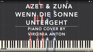 Wenn die Sonne untergeht Azet amp; Zuna Piano Cover Tutorial
