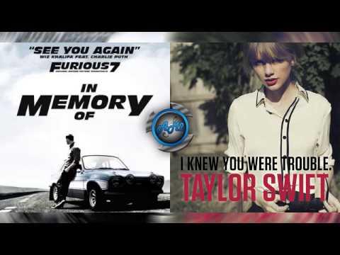 Wiz Khalifa Ft Charlie Puth Vs Taylor Swift - See you again (Mashup)