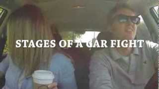 STAGES OF A CAR FIGHT! (Modern Marriage Moments)