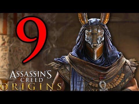 MENFI E IL COCCODRILLO - ASSASSIN'S CREED ORIGINS [Walkthrough Gameplay ITA HD - PARTE 9]