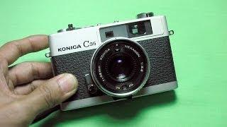 コニカ初代C35の使い方 KONICA C35 the first How to use 1970s Rangefinder camera