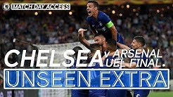 Chelsea Lift The Europa League Trophy! 🏆 Exclusive Footage | Unseen Extra