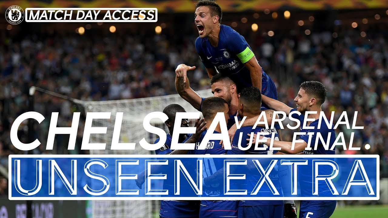 Download Chelsea Lift The Europa League Trophy! 🏆 Exclusive Footage   Unseen Extra