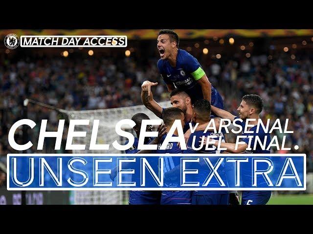 Chelsea Lift The Europa League Trophy!