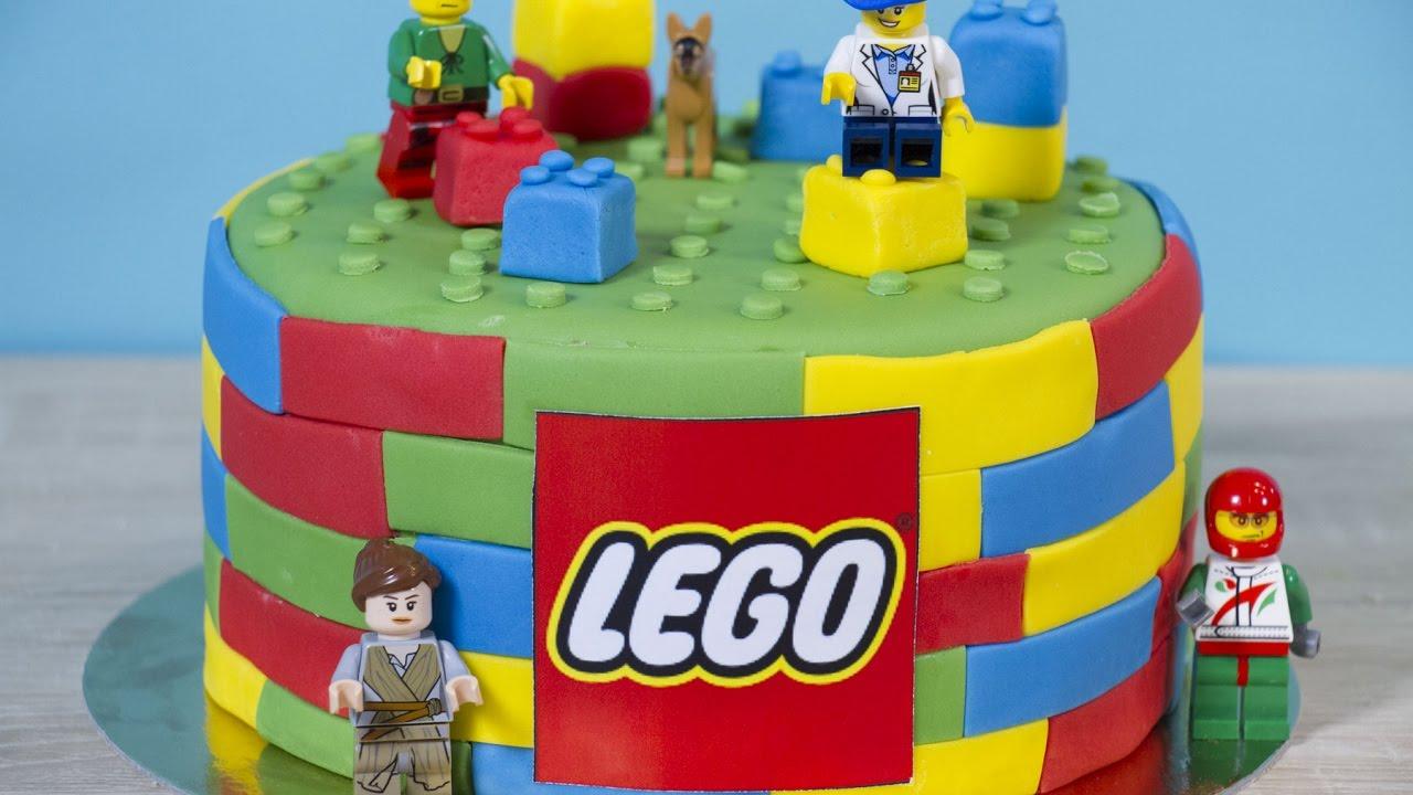 comment faire un g u00e2teau lego