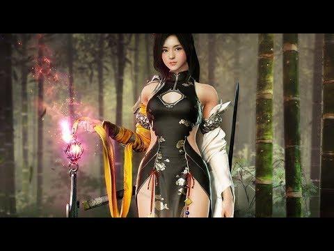 Black Desert Online: Ran Character Official Trailer (New Class Korea)