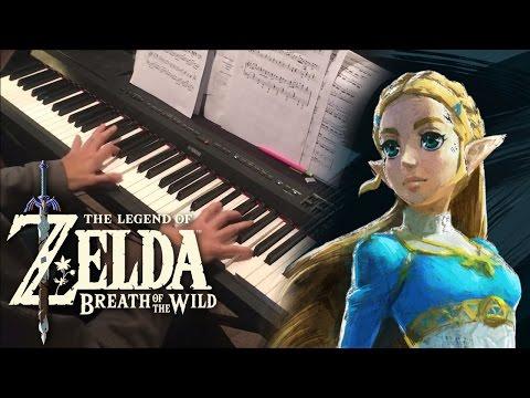 Zelda: Breath of the Wild Switch Launch Trailer (Piano Cover)