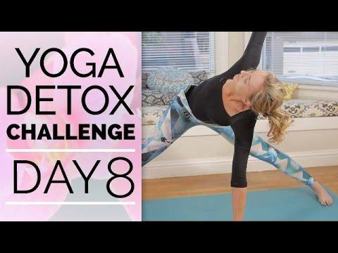 Day 8 - Yoga for Shoulder Flexibility - Yoga Detox Challenge (30-Min)