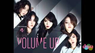 (i5cream REMIX) 4MINUTE - Volume Up Dubstep + Piano