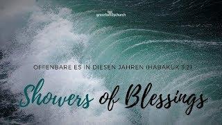 Showers of Blessings 1 - Keine Verdammnis mehr - 06.01.2019 mit Pastor Erich Engler