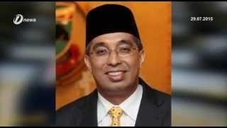 Datuk Seri Salleh Said Keruak Swears In As Senator