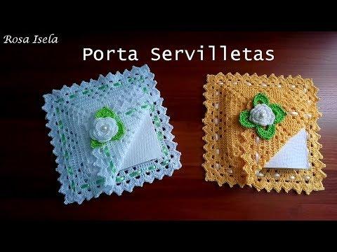 Porta Servilletas CROCHET