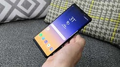 Paras Android-puhelin? Samsung Galaxy Note9