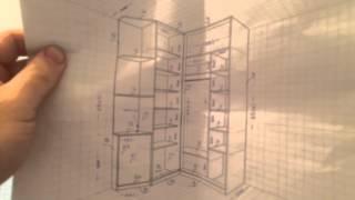 Угловой шкаф купе в прихожую!(Угловой шкаф купе в прихожую! Как срыть провода и роутер в прихожей?, 2015-11-08T15:31:31.000Z)