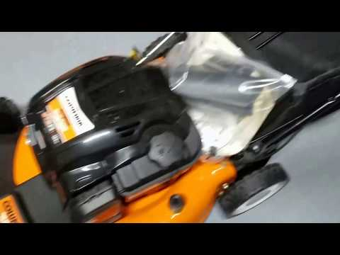 Columbia self propelled push mower review