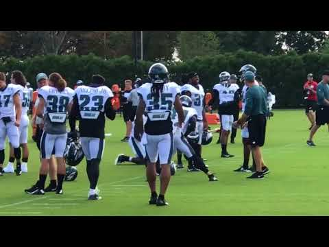Ronald Darby comes out to Eagles' practice