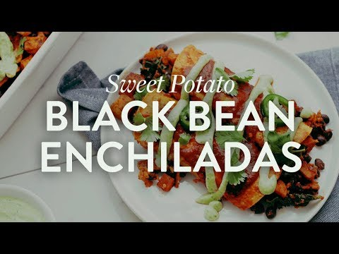 Sweet Potato Enchiladas | Minimalist Baker