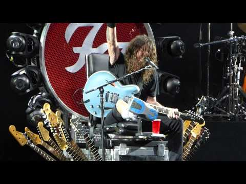 """""""Let There Be Rock (AC DC Cover)"""" Foo Fighters@Susquehanna Bank Center Camden, NJ 7/6/15"""