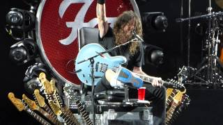 """Let There Be Rock (AC DC Cover)"" Foo Fighters@Susquehanna Bank Center Camden, NJ 7/6/15"