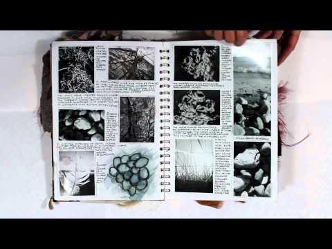 Sketchbook 2 A Level Textiles