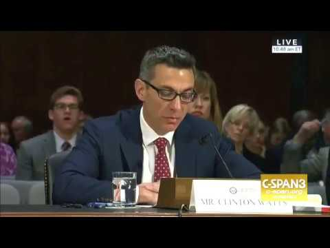 Clint Watts' testimony on Russia Hacking the 2016 U.S. election on March 30, 2017