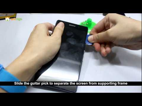 How to replace Sony Xperia Z2 LCD screen