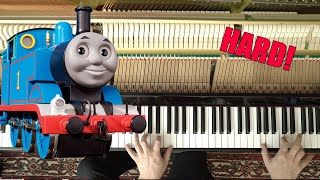 Thomas the Tank Engine - Piano Tutorial