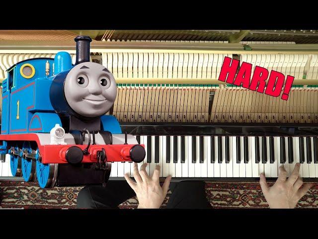 Thomas the Tank Engine - Piano Tutorial