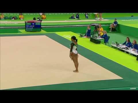 Toni Ann Williams 2016 Olympics QF FX